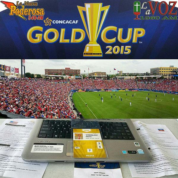 Apertura Copa Oro 2015 Toyota Stadium Frisco TX